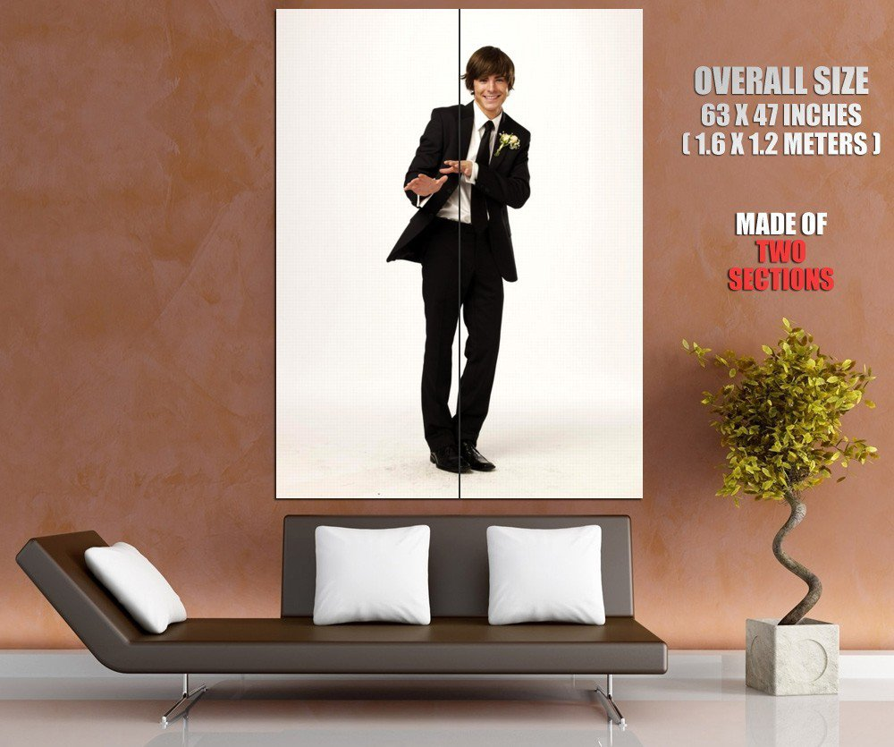 High School Musical Zac Efron Tv Series HUGE GIANT Print Poster