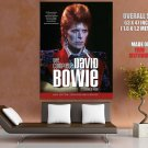 David Bowie Rock Pop Music Singer HUGE GIANT Print Poster