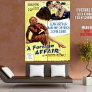 A Foreign Affair Movie Marlene Dietrich HUGE GIANT Print Poster