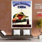 Bibita Tamarindo Erba Art Vintage HUGE GIANT Print Poster