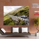 Volvo S60 Car Beautiful Landscape HUGE GIANT Print Poster