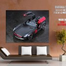 Mercedes Sls 63 Amg Mc 700 Black Car HUGE GIANT Print Poster