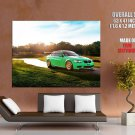 Ind Bmw M3 Coupe Green Hell S65 E92 Race Car Huge Giant Print Poster