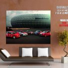 Audi Cup Cars Huge Giant Print Poster
