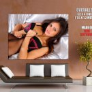 Louisa Marie Hot Brunette Model Sexy Body HUGE GIANT Print Poster