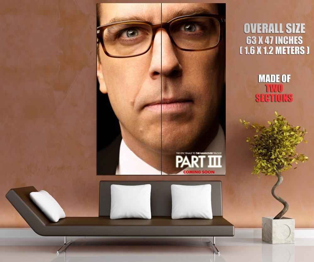 The Hangover Part Iii Ed Helms Movie Huge Giant Print Poster