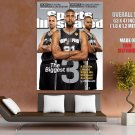 The Biggest Three San Antonio Spurs Nba Huge Giant Print Poster