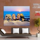 Beach Sun Sea Cool Holiday Resort HUGE GIANT Print Poster