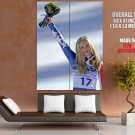 Lindsey Vonn Ski Racer Sport Huge Giant Print Poster