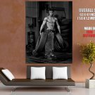 Fred With Tires Hot Bw Photo Art Huge Giant Print Poster