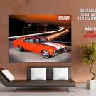 American Hot Rod Tv Show Muscle Car Huge Giant Print Poster