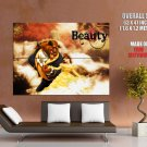 Beauty And The Beast Disney Art HUGE GIANT Print Poster