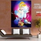 Cinderella Walt Disney Art HUGE GIANT Print Poster