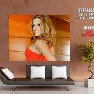 Teagan Presley Hot Red Dress Huge Giant Print Poster