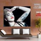 Rita Ora Hot Singer Tattoo Huge Giant Print Poster