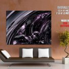 Abstract 3 D Art Huge Giant Print Poster