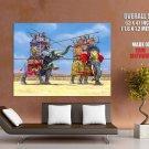 Ancient Carthage Elephant Battle Art HUGE GIANT Print Poster