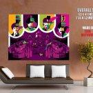 The Beatles Rock Band Art Music Huge Giant Print Poster