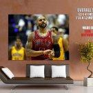 Carlos Boozer Chicago Bulls Nba Huge Giant Print Poster