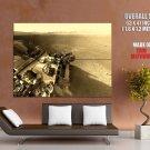 Nasa Curiosity Photo Mars Mountain Science Huge Giant Print Poster