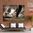Tornado Cyclone Hurricane Windmill HUGE GIANT Print Poster