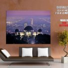 Griffith Observatory Los Angeles Cityscape HUGE GIANT Print Poster