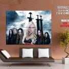 Leaves Eyes Symphonic Metal Music HUGE GIANT Print Poster