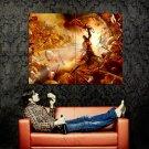 God Of War 3 Kratos Battle Art Video Game Huge 47x35 Print POSTER