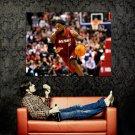 LeBron James Dribbling NBA Basketball Huge 47x35 Print POSTER