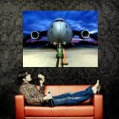 Boeing C 17 Globemaster Military Aicraft Huge 47x35 Print POSTER