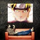 Naruto Face Close Anime Manga Art Huge 47x35 Print POSTER