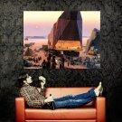 Sandcrawler Tatooine Star Wars Painting Art Sci Fi Huge 47x35 Print POSTER