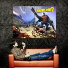 Borderlands 2 Mutants Art Video Game Huge 47x35 Print POSTER