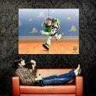 Buzz Lightyear Running Toy Story 3 Art Huge 47x35 Print POSTER