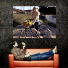 Carrie Underwood Bicycle Country Singer Music Huge 47x35 Print POSTER