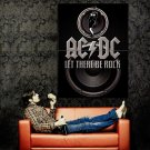 Ac Dc Let There Be Rock Music Huge 47x35 Print Poster