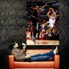 Blake Griffin Fade Away Jumper Los Angeles Clippers NBA Huge 47x35 POSTER