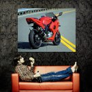 Hyosung GT650R Red Sport Bike Motorcycle Huge 47x35 POSTER
