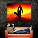 El Mariachi Desperado Antonio Banderas Sunset Movie Huge 47x35 POSTER