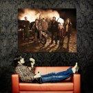 Falling Skies Bike Noah Wyle Moon Bloodgood TV Series Huge 47x35 POSTER