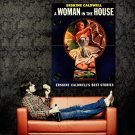 Woman In The House Cover Vintage Retro Art Huge 47x35 POSTER