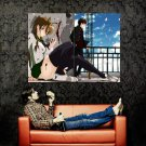 Highschool Of The Dead Miyamoto Rei Komuro Takashi Anime Art Huge 47x35 POSTER