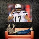 Philip Rivers San Diego Chargers NFL Football Sport Huge 47x35 POSTER