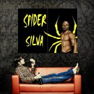 The Spider Anderson Silva MMA Martial Arts Huge 47x35 Print POSTER