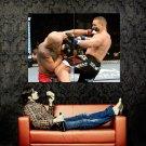 Pat Barry Vs Dan Evenson MMA Huge 47x35 Print POSTER