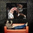 Chris Barnett Knee MMA Mixed Martial Arts Huge 47x35 Print POSTER