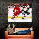 Henrik Zetterberg Detroit NHL Hockey Huge 47x35 Print POSTER