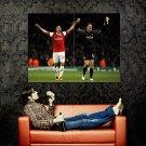 Arsenal FC Robin Van Persie Football Huge 47x35 Print POSTER