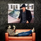 George Harvey Strait Country Music Huge 47x35 Print POSTER