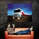 Mercedes Benz Actros Truck Trailer Huge 47x35 Print POSTER